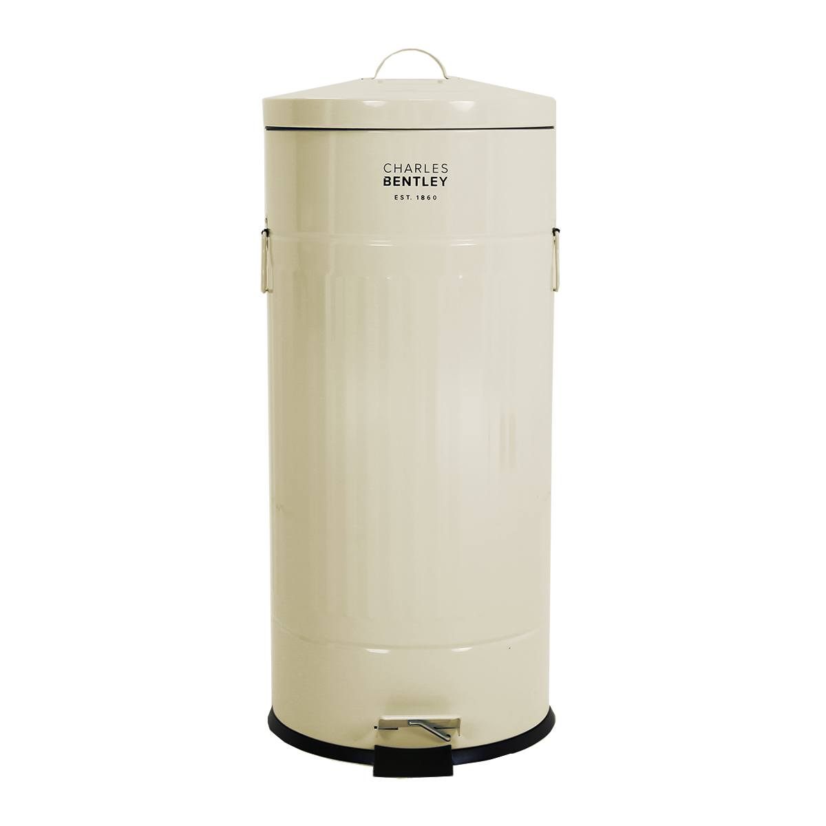 Charles-Bentley-Kitchen-Pedal-Bin-in-Various-Colours-Made-of-Steel-30-Ltr thumbnail 2